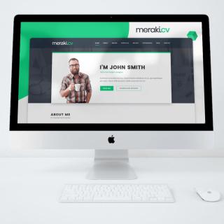 VIZITKA NA WEBE- jednoduchá webstránka do 24 hodín